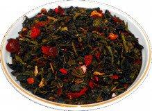 Чай зеленый Годжи Ассаи, 500 г, крупнолистовой зеленый ароматизированный чай
