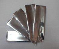 Пакет однослойный фальгированный для фасовки развестного крупнолистового чая, 7,5 х 24,5 см