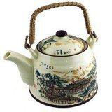 Чайник для чая Императорский домик с бамбуковой ручкой, 800 мл