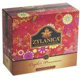 Чай Черный ZYLANICA Ceylon Premium (Зиланика Цейлон Премиум),  пакетики с ярлычками, 100 саше по 2г.