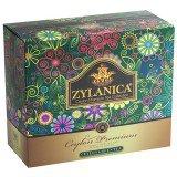 Чай Зеленый ZYLANICA Ceylon Premium (Зиланика Цейлон Премиум),  пакетики с ярлычками, 100 саше по 2г.