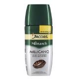 Кофе растворимый с добавлением молотого Jacobs Monarch Millicano 95 г. сублимированный ,стеклянная банка