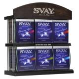 Именная наклонная полка Svay на 6 позиций чая