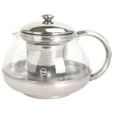 Чайник для чая Лотос стеклянный, 1000 мл