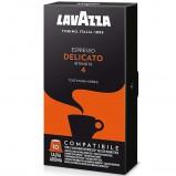 Кофе в капсулах Lavazza Espresso Delicato формата Nespresso (Лавация Эспрессо Деликато), упаковка 10 капсул