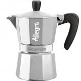 Гейзерная кофеварка Bialetti Aeternum Allegra SILVER (3 чашки)