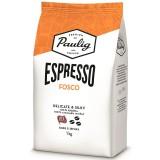 Кофе в зернах Paulig Espresso Fosco (Паулиг Эспрессо Фоско) 1кг, вакуумная упаковка